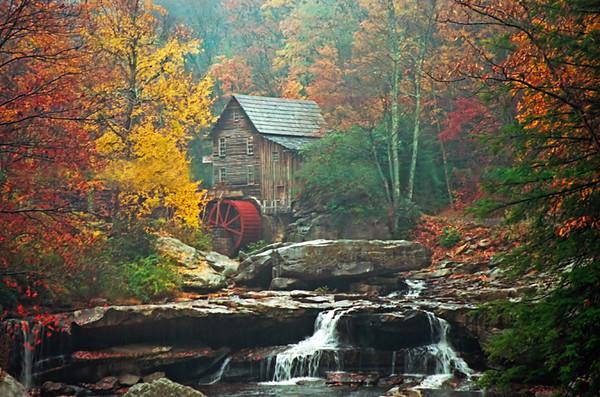 1980s W VA grist mill