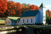 1994 WV Church and autumn colors