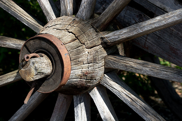 MB Wooden Wheel
