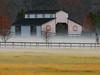 2016 01 30 TX Early morning barn