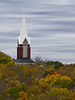 2018 10 25 KS Olathe Autumn steeple and fake sky