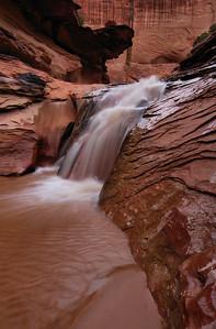 Waterfall, Lower Coyote Gulch