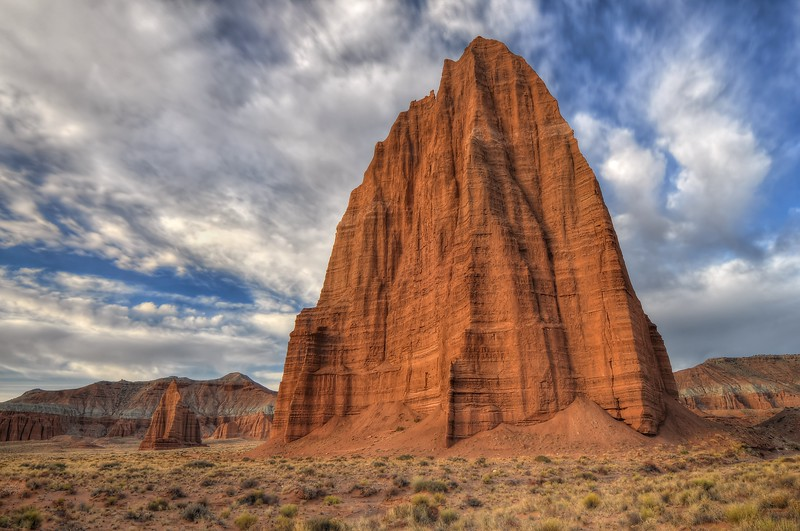 Temple of the Sun Capitol Reef National Park, Utah.  Copyright © 2012 All rights reserved