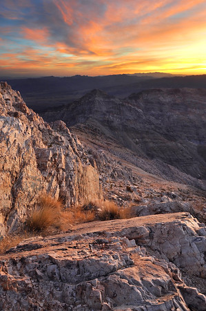 Sunrise at Aguereberry Point Death Valley National Park, California.  Copyright © 2012 All rights reserved.