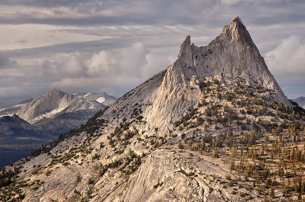 Cathedral Peak and Mount Conness Yosemite National Park, California.  Copyright © 2011 All rights reserved.