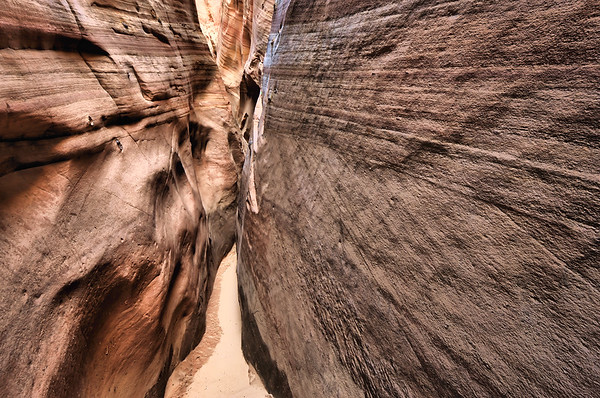 First Part of Zebra Slot Canyon Grand Staircase-Escalante National Monument, Utah. Copyright © 2011 All rights reserved.