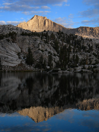 Mount Clarence King Reflection (Sixty Lakes Basin)