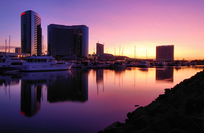 San Diego Marina.  San Diego, California.  Copyright © 2008 All rights reserved.