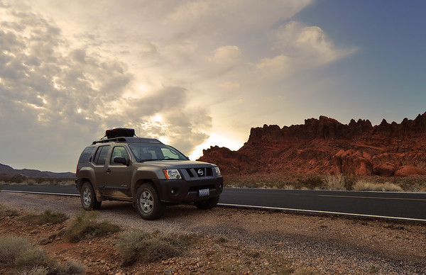 Approaching Storm, Valley of Fire State Park, Nevada.  Copyright © 2011 All rights reserved.