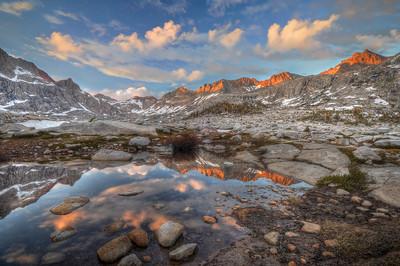 Nine Lake Basin Sunset