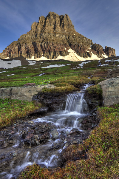 -PHOTOGRAPH OF THE DAY (September 18, 2012)<br /> MyParkPhotos.com<br /> <br /> Cascade and Mount Reynolds<br /> Glacier National Park, Montana.<br /> Copyright © 2009<br /> All rights reserved.