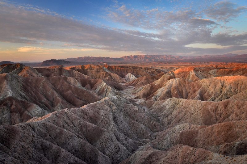 PHOTOGRAPH OF THE DAY (February 12, 2012)<br /> MyParkPhotos.com<br /> <br /> Borrego Badlands Morning<br /> Anza-Borrego State Park, California.<br /> Copyright © 2011<br /> All rights reserved.