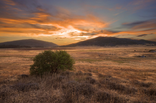 Sunset Near Cuyamaca Lake  Cuyamaca Rancho State Park, California.  Copyright © 2011 All rights reserved.