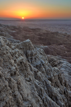 Borrego Badlands (Sunrise) San Diego, California.  Copyright © 2012 All rights reserved.