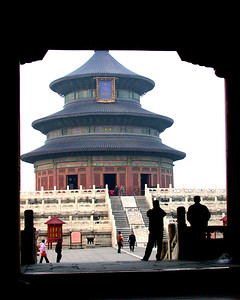 Temple of heaven, Beijing China.