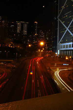 Hong Kong night and day City scapes