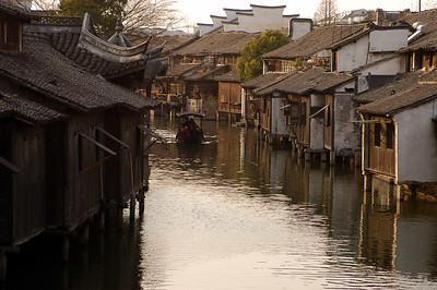 Historic Chinese Canal Village.