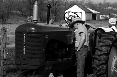 """""""This is a fine tractor!"""" Auction season is here… Farm equipment auction just outside of Waynesboro Pennsylvania."""
