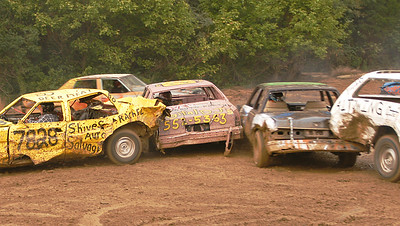 Demolition Derby, 2007 Franklin County Fair, Pennsylvania