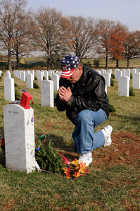 Arlington National Cemetery, Wreaths across America project, December 11, 2010