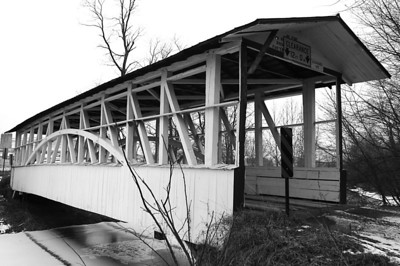 Turner's Covered Bridge in Bedford County Pennsylvania.