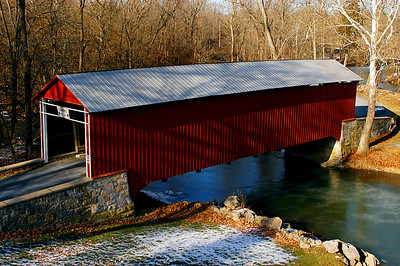 Anderson Road Covered Bridge, Mercersburg, Pennsylvania