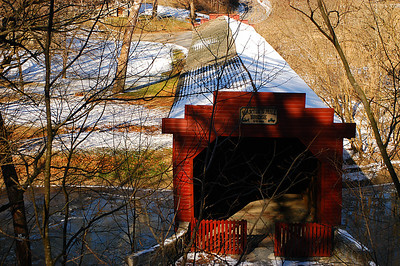 Martin's Mill Covered Bridge, Greencastle, Pennsylvania