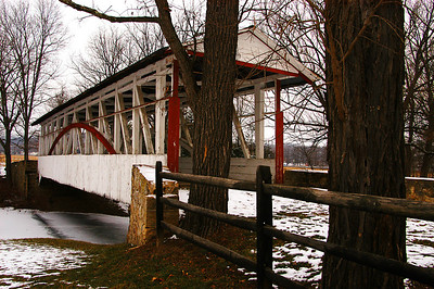 1880's, Dr. Kniseley Covered Bridge.