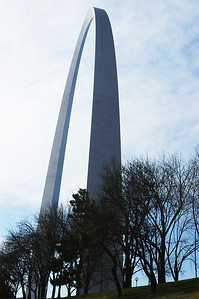 St Louis and the Gateway Arch