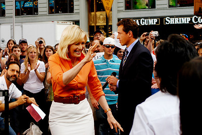 Diane Sawyer, ABC News, during the early show 11 August 2008