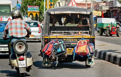 Home from school Jaipur, Rajasthan, India  |  2007