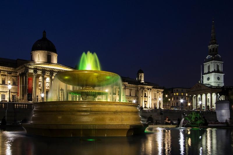 Trafalgar Square  London England