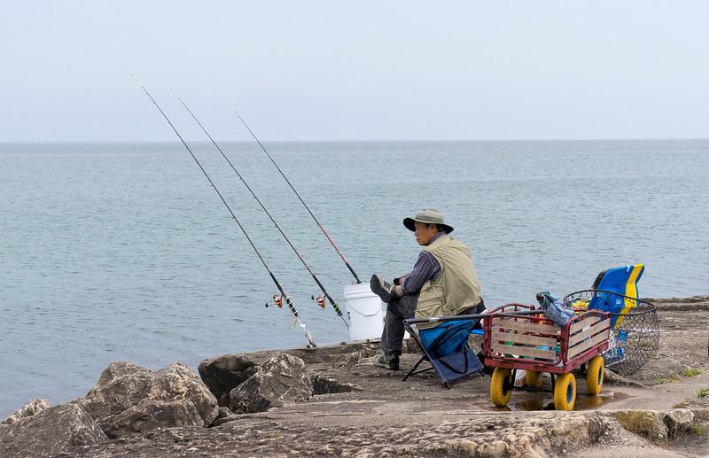 Fishing-Lake-Michigan