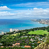 Honolulu from Diamond Head-HI