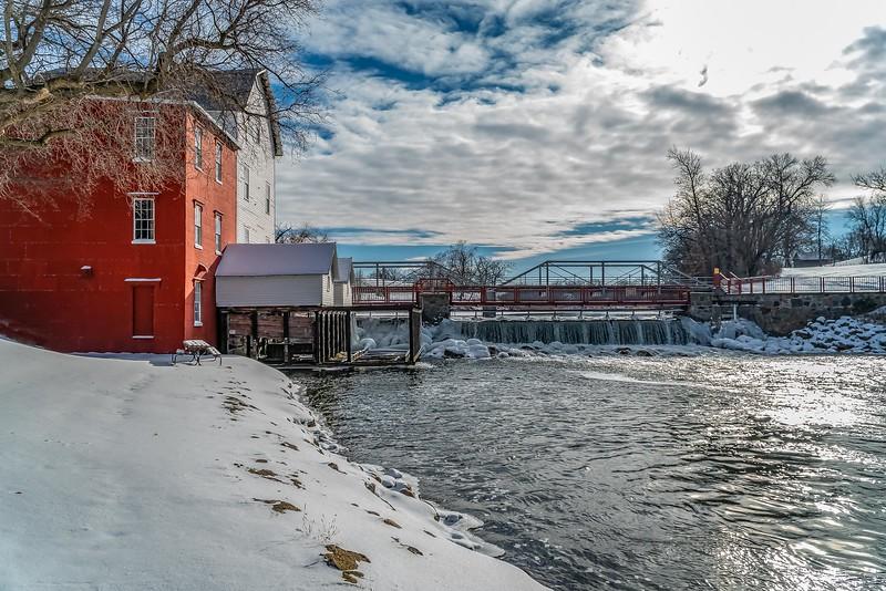 Phelps Mill Battle Lake MN USA