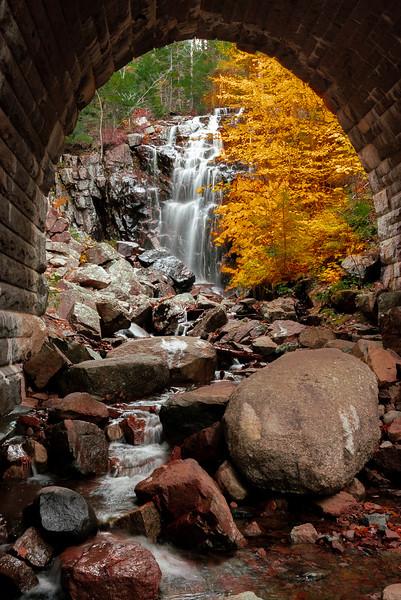 Waterfall Bridge Acadia NP Maine