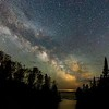 Temperance River Milky Way MN