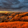 Sunset-Theodore Roosevelt National Park-North Dakota
