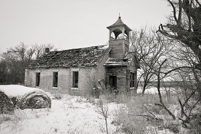 Abandoned Schoolhouse | Winter 2009 | (Unknown) - KS