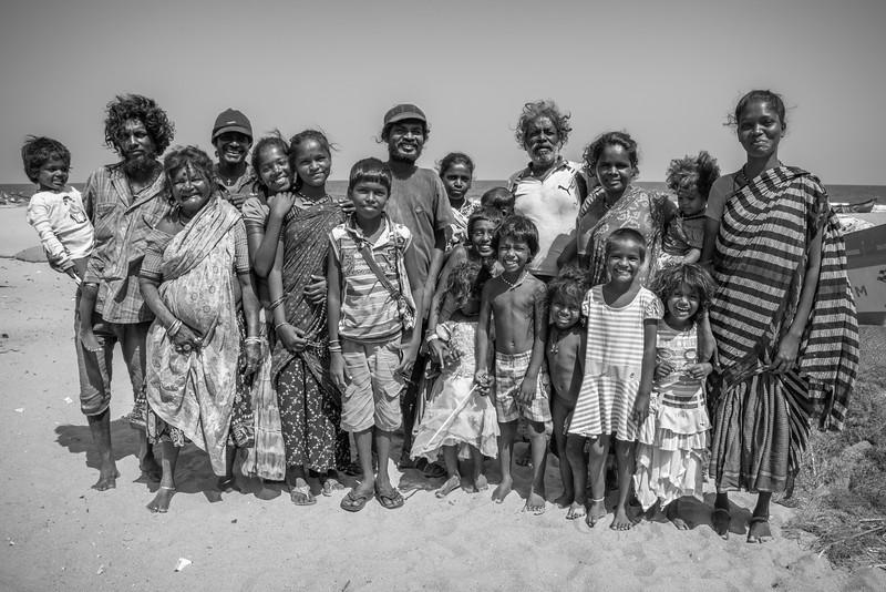 The Gypsies of Mahabalipuram, India.