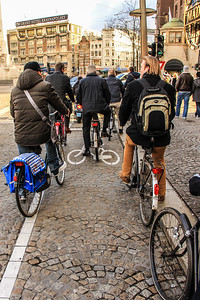 38% of traffic movement in the city is by bike compared to 37% by car and 25% by public transport. In the city center, 57% of traffic movement is by bike.