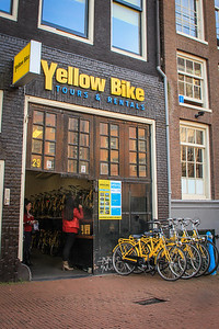 The best way to get around as a tourist is by bicycle. There are many shops that rent bicycles throughout the city.