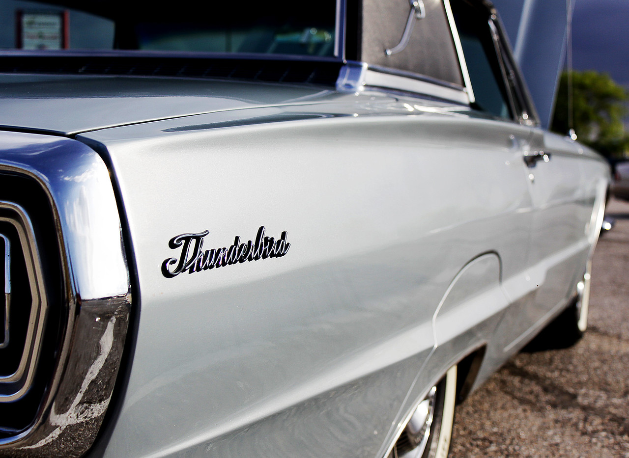This 1957 Thunderbird is a great example that they just don't make cars like they used to.