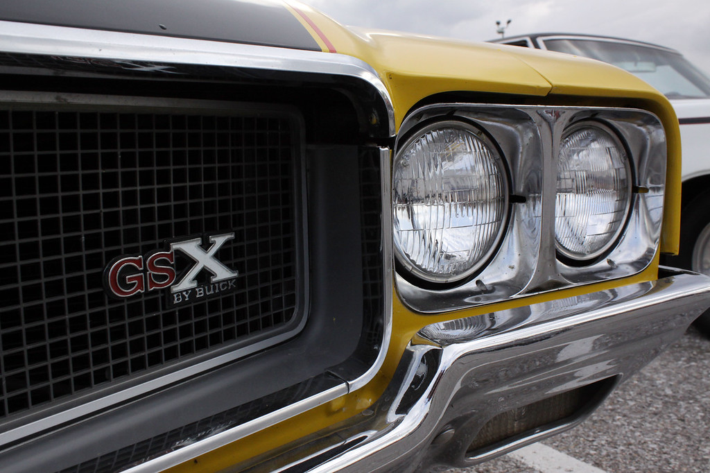 While I'm not sure of the year, this is a Buick GSX. I've never seen one that was built before the 1980s, and I've certainly never seen a GranSport X.