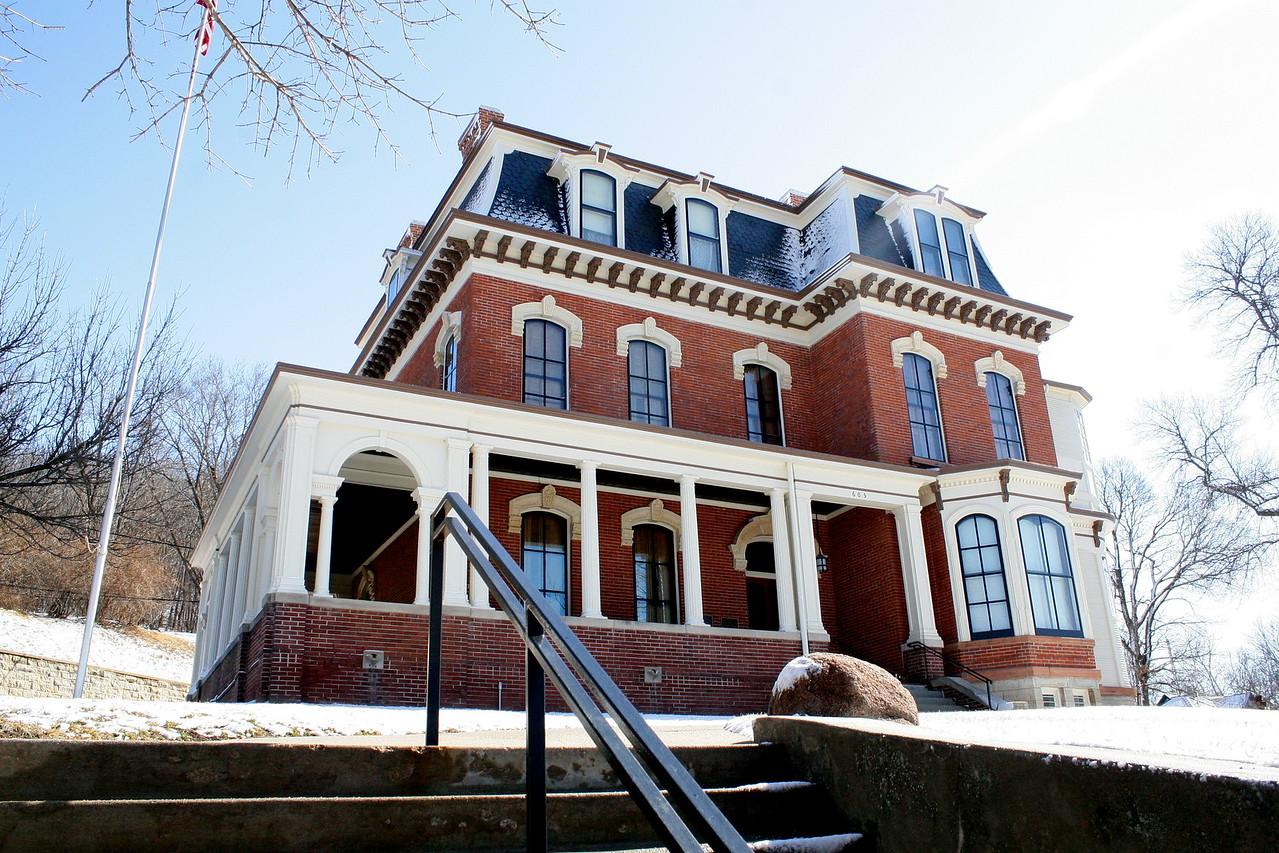 Home of Gen. Grenville Dodge in Council Bluffs, Iowa.