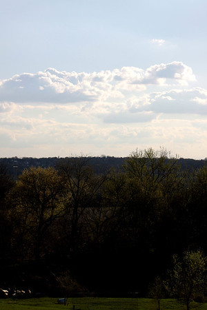 Taken from the top of a hill, two blocks from my house, near 53rd and Y Streets.