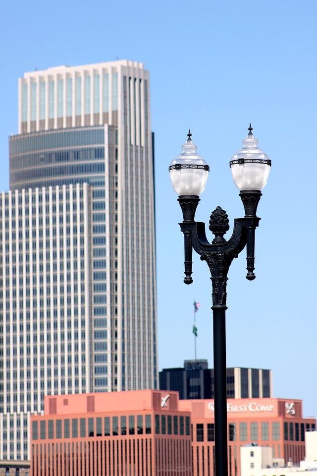 First National Tower in Omaha, Nebraska.