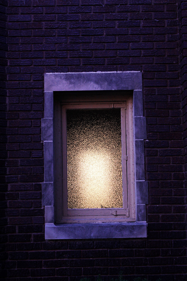 Here's a window at Pella Lutheran Church in Omaha, Nebraska, off 40th and Farnam.