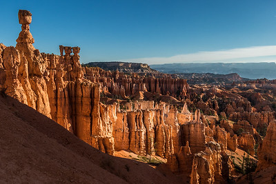 sunrise on the hoodoos