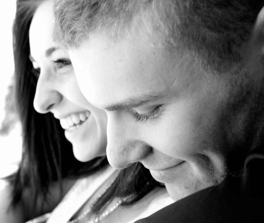 My niece, Kali Varn, and her boyfriend, John McGahan. I love candid pics.